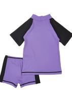 Lizzy - Becky Two-piece Swimsuit Purple