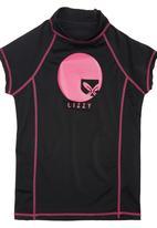 Lizzy - Amanda Rash Vest Black
