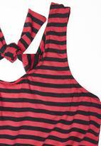 Precioux - Striped Playsuit Multi-colour