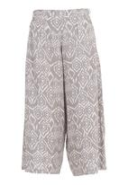 STYLE REPUBLIC - Printed Culotte Neutral