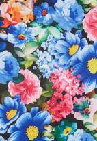 STYLE REPUBLIC - Floral Boxy Top Multicolour