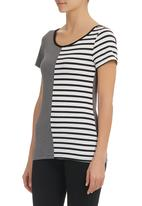 Carly Tod - Striped T-shirt Multi-colour
