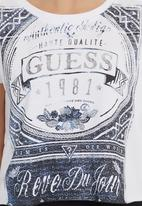 GUESS - Terry Crop Top Multi-colour
