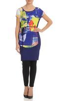 Marique Yssel - Knit Tunic Dress Multi-colour