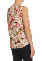 edge - Floral-printed Cami Multi-colour