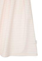 Phoebe & Floyd - Stripe Party Dress Pale Pink