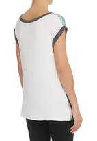 STYLE REPUBLIC - A-print T-shirt Multi-colour