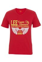 Lee  - Dry T-shirt Red
