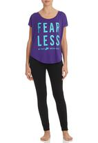 Nike - Fearless Top Purple