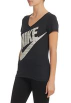 Nike - Futura Shine Top  Black