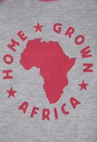 Home Grown Africa - Grower Logo Pale Grey