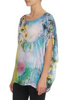 Kathrin Kidger - Printed Kaftan Multi-colour