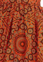 Marparnsha Designs - Tribal Skirt Orange