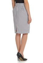 adam&eve; - Ulrika skirt Black/White