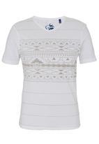Pride & Soul - Skylar T-shirt White