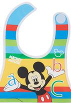 Character Baby - Mickey Mouse Catcher Bib Multi-colour