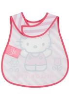 Character Baby - Hello Kitty Catcher Bib Mid Pink