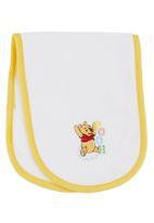 Character Baby - Winnie the Pooh Burp Cloth White