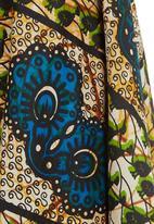 AfroDizzy - Midi African-print Skirt Multi-colour