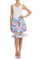 Blackeyed Susan - Pretty Posey Skirt Multi-colour