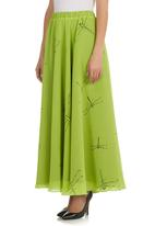 TART - Dragonfly Maxi Skirt Green