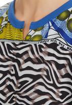 Marianne Fassler - Kaftan Print Multi-colour