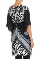 She's Cool - Kimono Tunic Black