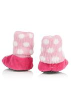 Character Baby - Hello Kitty Bootie Slippers Dark Pink