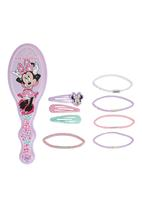 Character Fashion - Minnie Mouse Brush Set Pale Pink