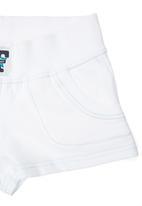 Precioux - Fleece Shorts White