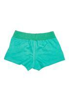 Precioux - Fleece Shorts Green