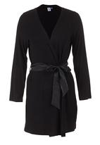 edge - Gown with Ribbon Detail Black