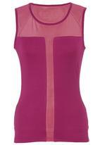 KARMA - Block Tank Top Pink