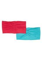 Precioux - 2-pack Girls Bandeau Multi-colour