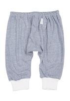 Precioux Bucks - Baby Boys Cuffed Harem Pants Navy