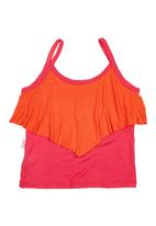 Precioux - Mesh Top Dark Pink