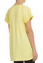 AMANDA LAIRD CHERRY - Caterina Tunic Yellow