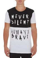 Silent Theory - Always Silent T-shirt Black/White