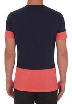 STYLE REPUBLIC - Colourblock T-shirt Navy