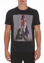 Ben Sherman - Photo-printed T-shirt Black