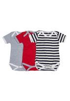Precioux - 3-pack Babygro Multi-colour