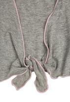 Precioux - Baby Girl Bolero Mid Grey