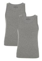 Next - Vest Two Pack Grey