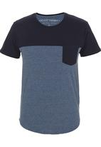 Silent Theory - Scoop T-shirt Navy