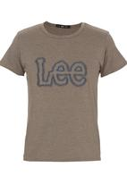 Lee  - Smooth Tee Mid Brown