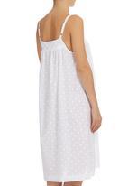 White Mischief - Zannabella Night Dress White