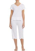 White Mischief - Sasha Pyjama Set White