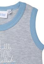 Phoebe & Floyd - Sleeveless Body Vest Grey