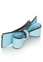 POP CANDY - Bow Hair Clip Pale Blue
