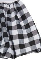 Sam & Seb - Gingham Bubble Skirt Black/White